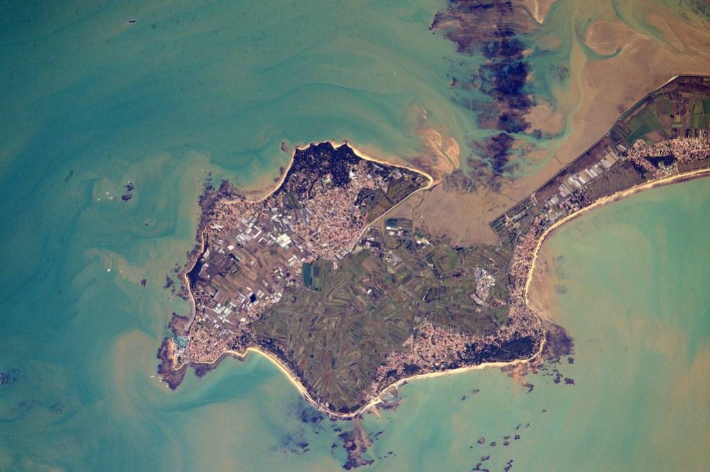 France vue de l'espace par Thomas Pesquet - N°2