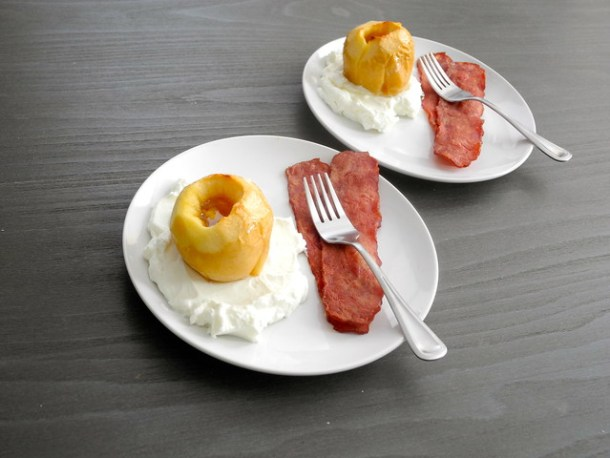 Baked Apples with Honey and Lemon
