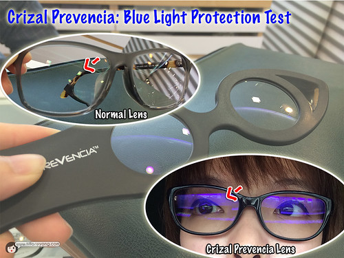 Crizal Prevencia Lens Put To Test By Tiffanyyong Com