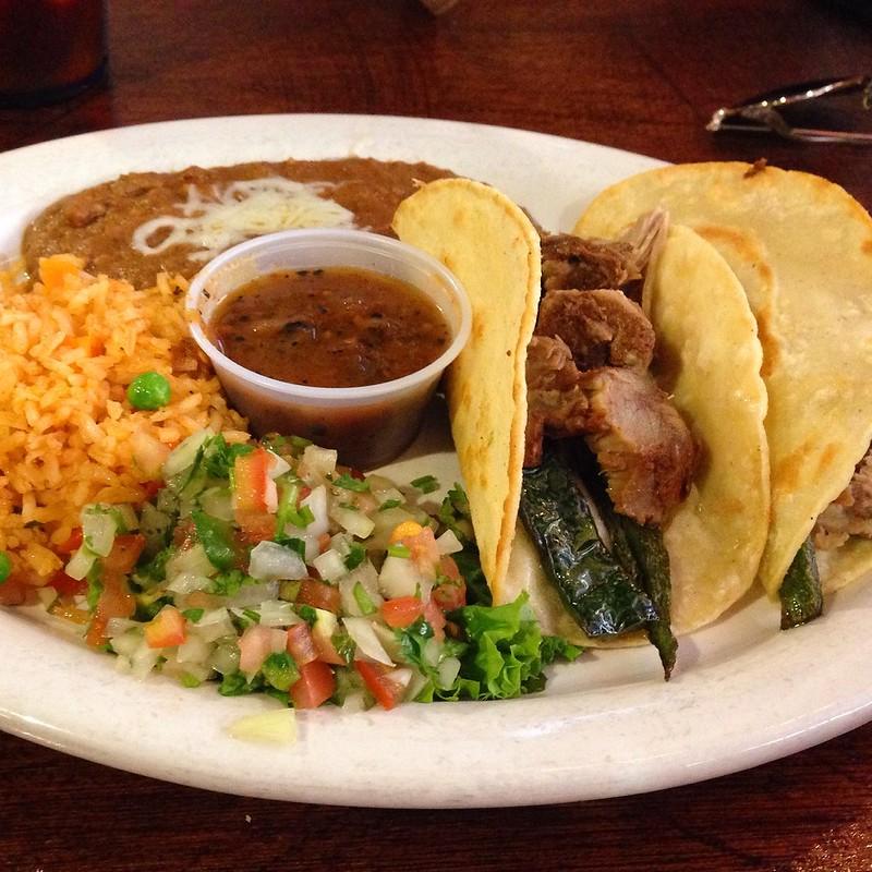 Senor Bean Pork Tacos