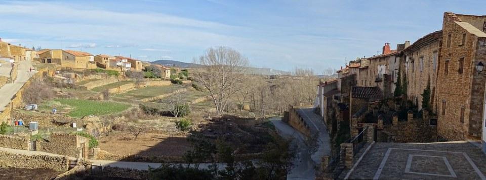 vistas La Iglesuela del Cid Calles Medievales Comarca del Maestrazgo Teruel 05