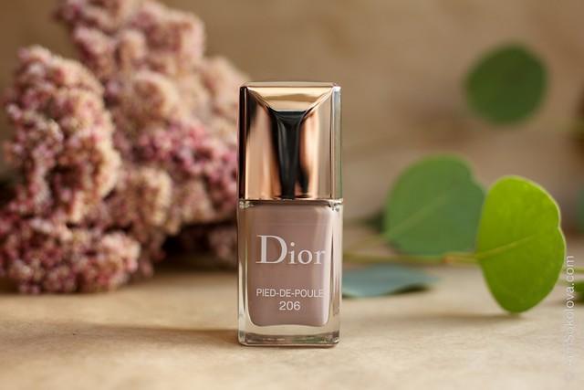 01 Dior #206 Pied de Poule