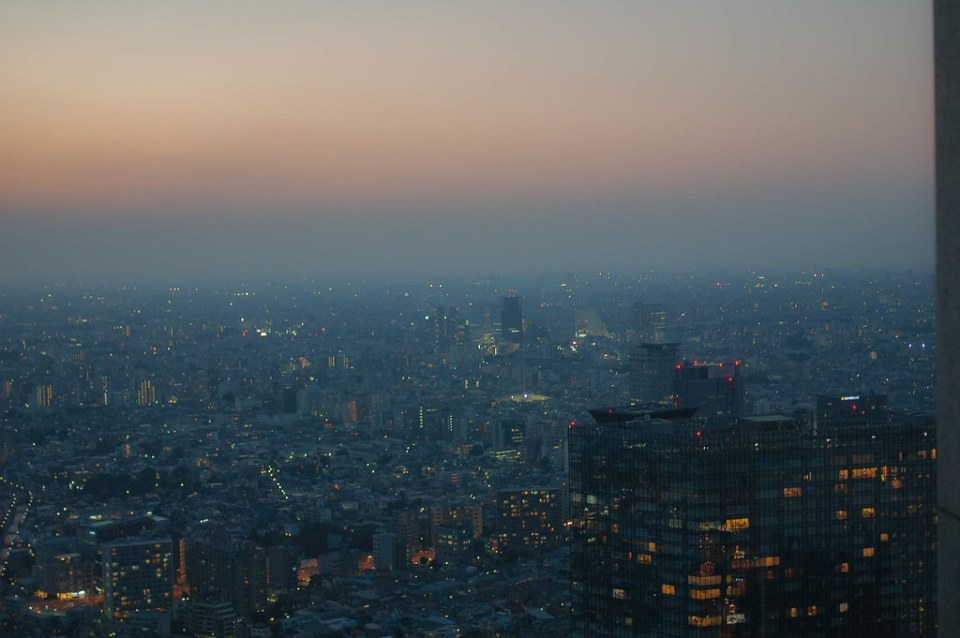 The Tokyo Metropolitan Government Office