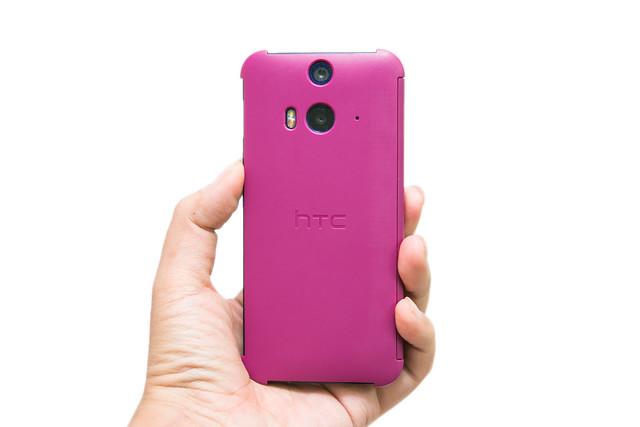 蝴蝶 2 必買!  HTC DotView for Butterfly 2 原廠洞洞殼 @3C 達人廖阿輝