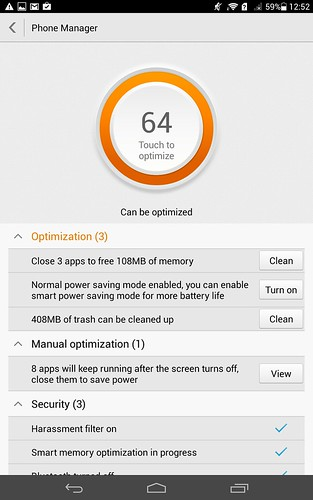 Phone Manager คือ App ช่วย Optimize เครื่อง