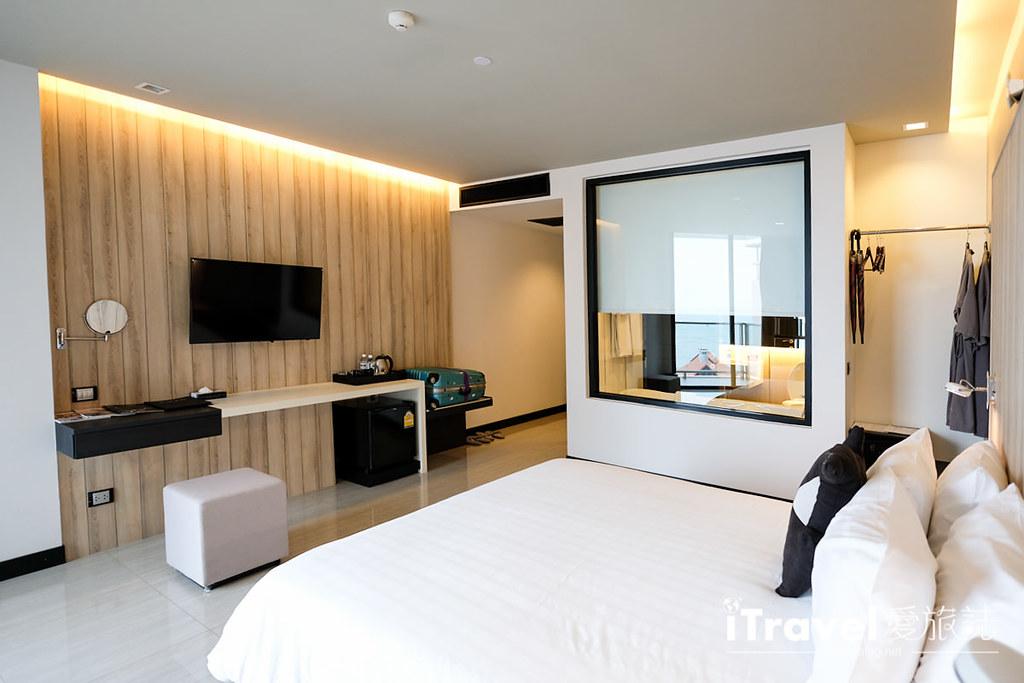 《芭达雅酒店推荐》芭堤雅缇克斯第五酒店 Tsix5 Phenomenal Hotel:运动设施齐全的临海景观舒适大空间,2015年全新开业!