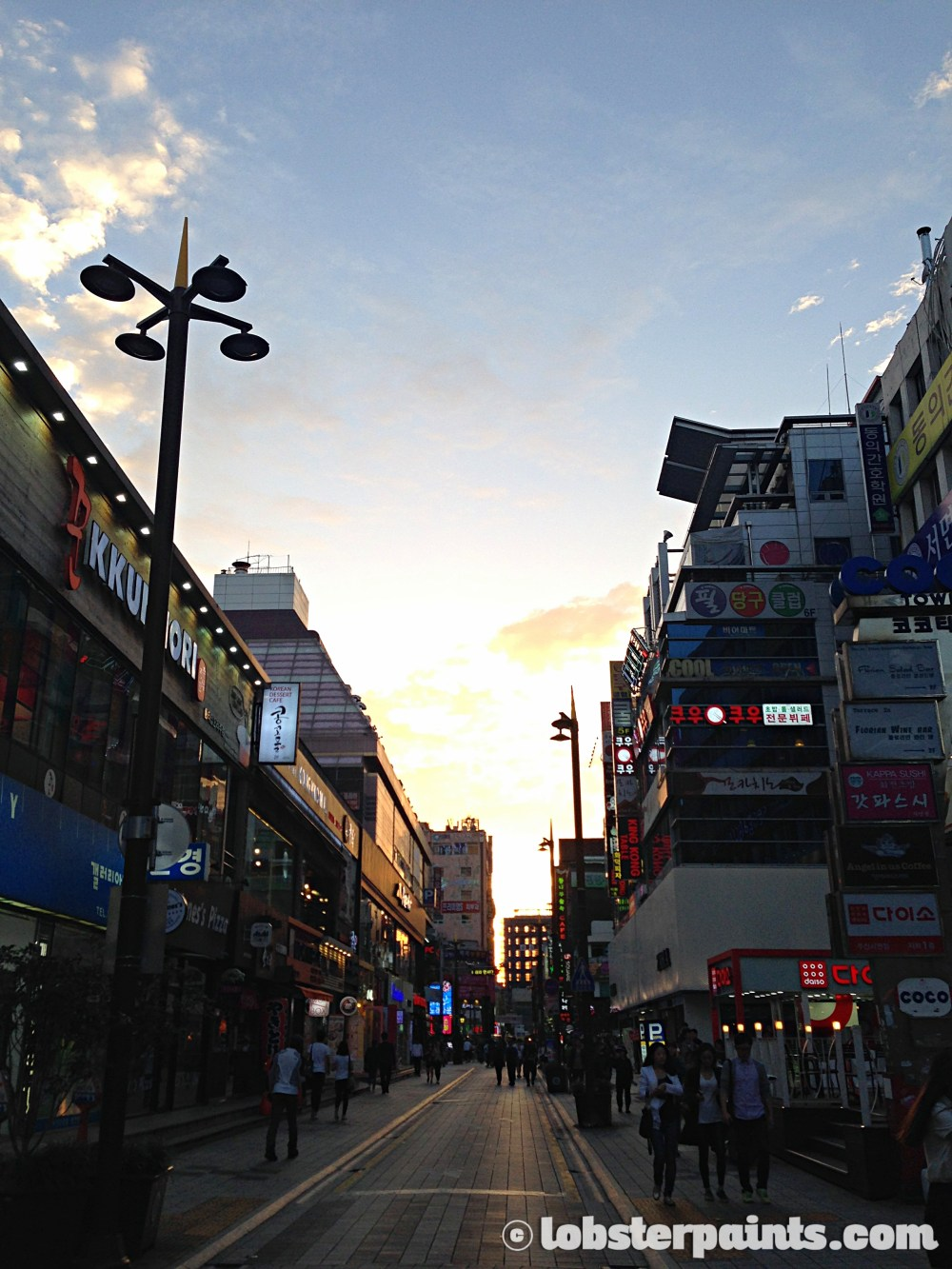 26 Sep 2014: Seomyeon Streets   Busan, South Korea