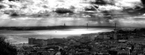Baixa de Lisboa panorama
