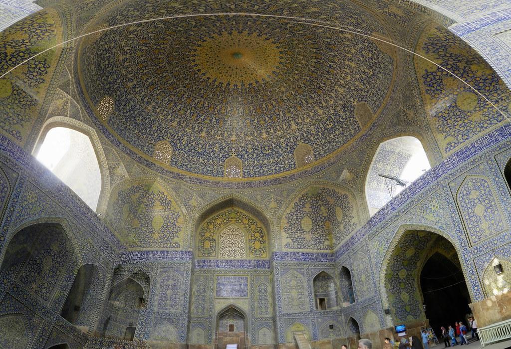 Mezquita del Shah o Imám Isfahán Irán 09