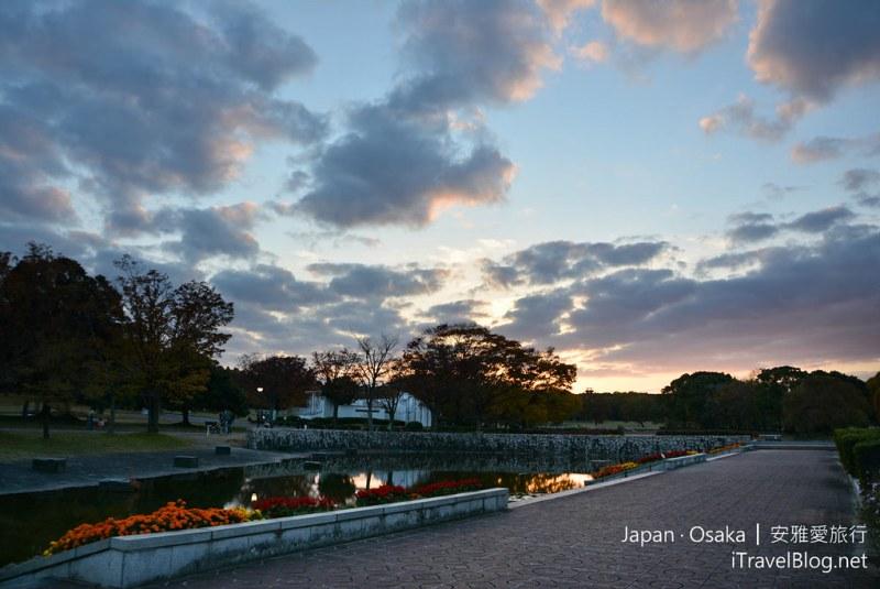 大阪赏枫 万博纪念公园 39