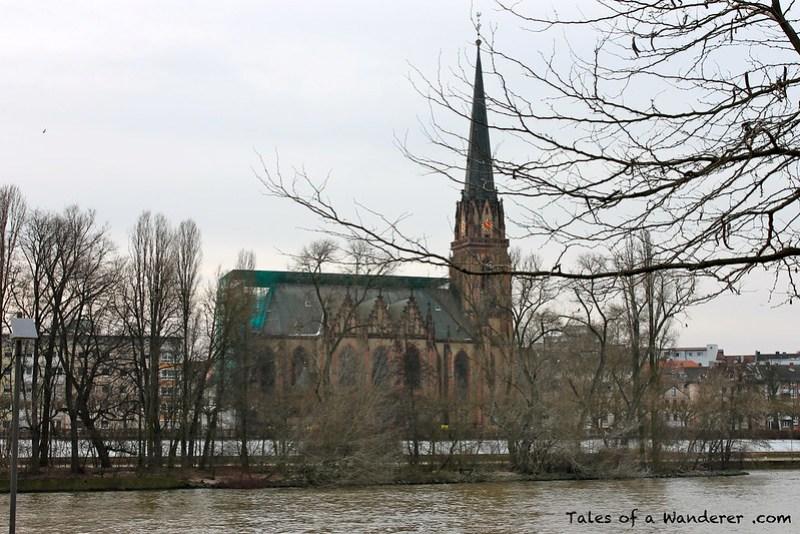 FRANKFURT AM MAIN - Dreikönigskirche