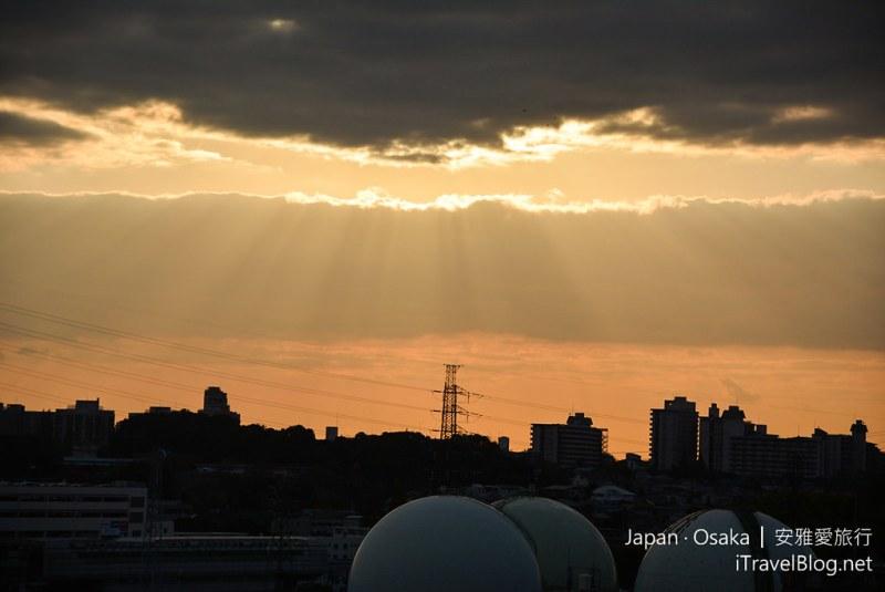 大阪赏枫 万博纪念公园 红叶庭园 34
