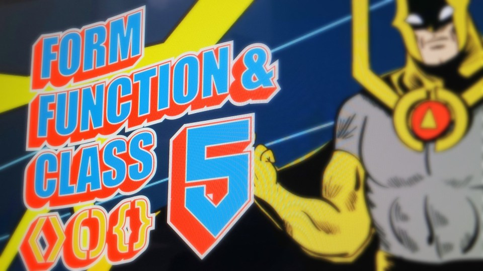 Form Function Class 5