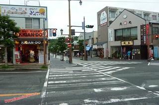 P1060377 Salida de la estacion de Dazaifu (Dazaifu) 12-07-2010 copia