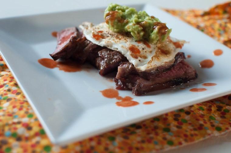 Steak, Eggs and Guacamole 8