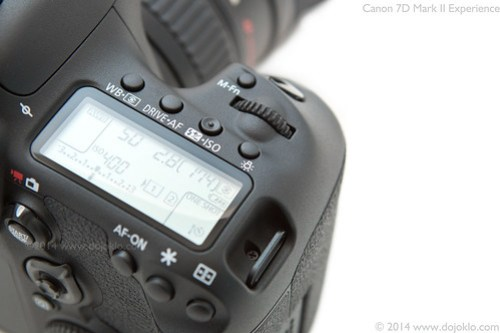 Canon 7D Mark II body controls buttons tips tricks how to learn use manual guide tutorial recommend setting set up quick start