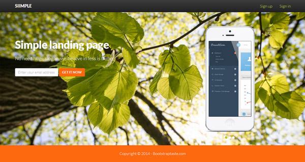 Flatty – App Landing Page