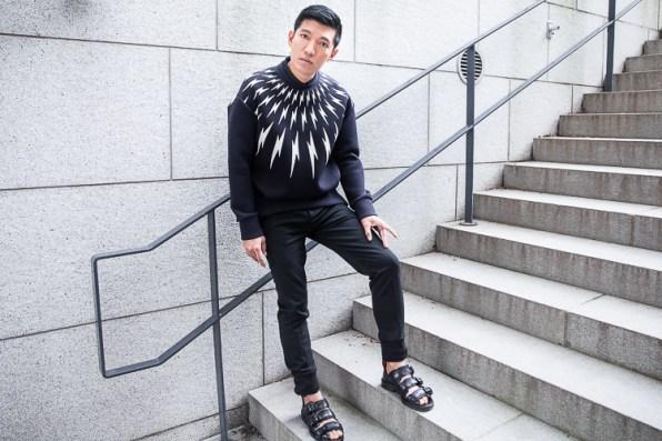 Neil Barrett Thunder Bolt Sweater