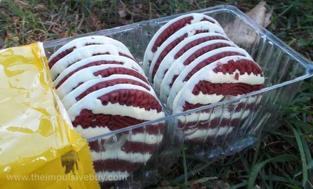 Keebler Red Velvet Fudge Stripes Cookies 2