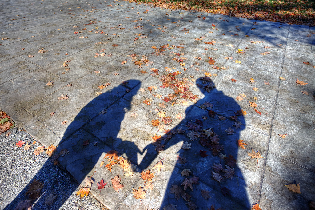 """""""Love Shadow"""" at FDR Presidential Library."""