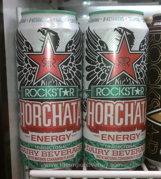 Rockstar Horchata Energy