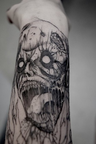 Zombie Tattoos for Arms