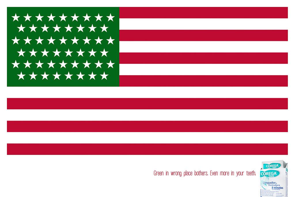 Corega Tabs - USA Flag