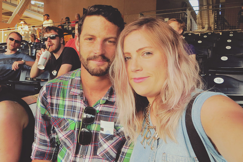 Me and Tom baseball