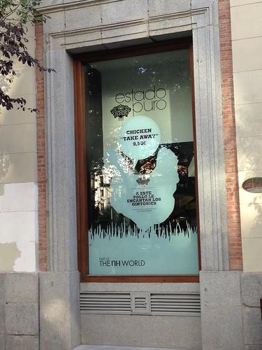 Estado Puro, Paco Roncero. Barrio de las Letras. Madrid