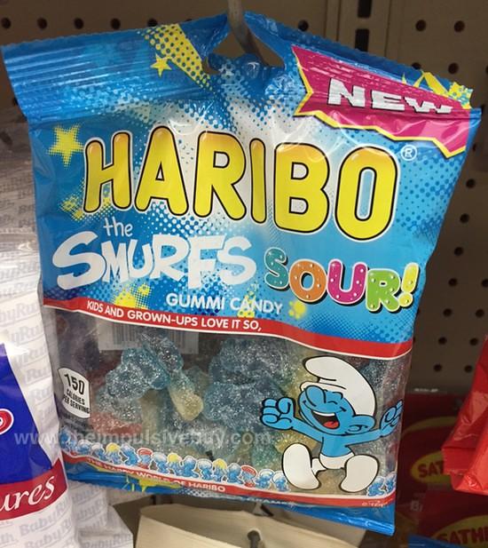 Haribo The Smurfs Sour! Gummi Candy