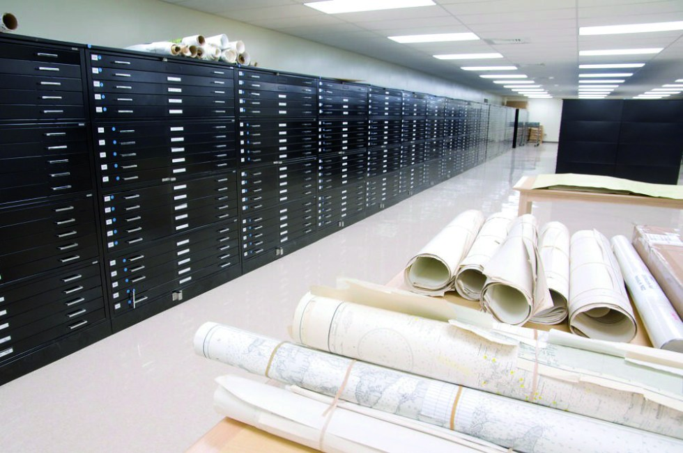 <p>The Hamilton Library map room has been expanded and reorganized to better protect the collection.</p>