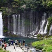【Photo】静岡県富士宮市、白糸の滝へ。【静岡】