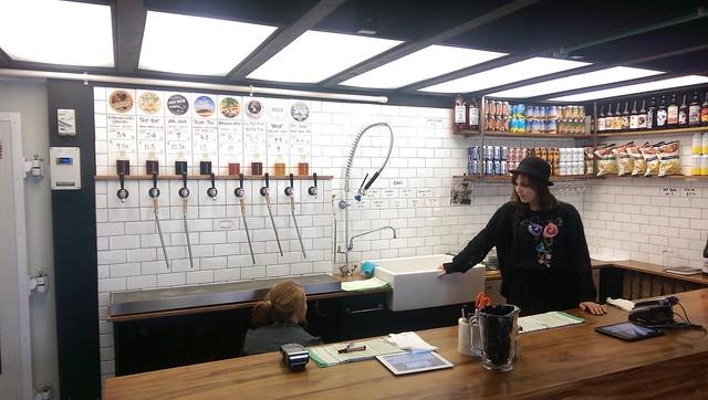Bar, The Garage Project, Wellington