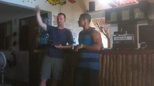 Aaron Speaking and Pablo Translating