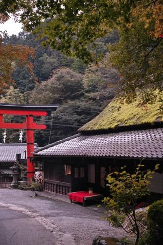 京都嵯峨 鳥居本 平野屋