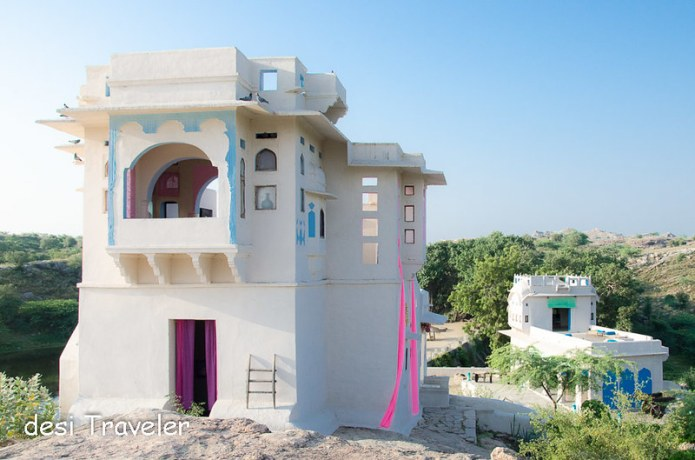 Zanana and Mardana Mahal Lakshman Sagar Resort Rajasthan