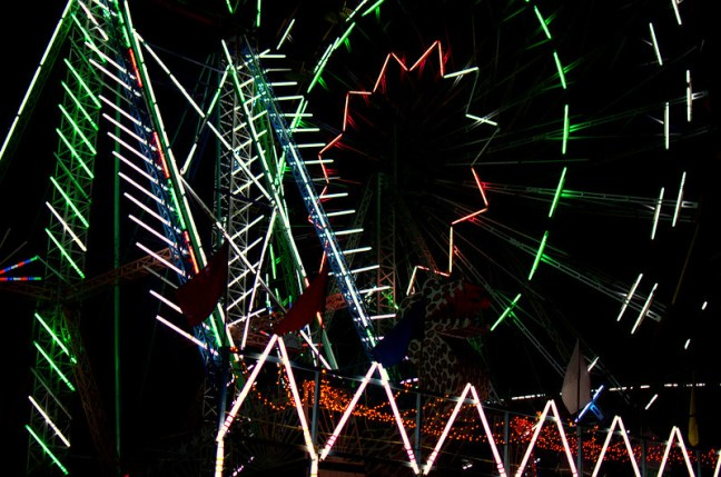 Roller Coaster ride at #pushkar #fair, scared the hell out of me.