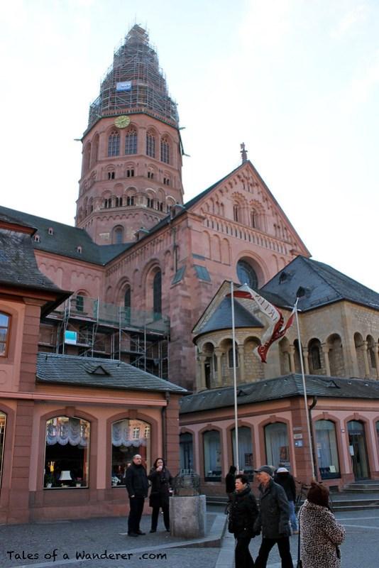 MAINZ - Markt - Mainzer Dom 'Hohe Dom St. Martin'