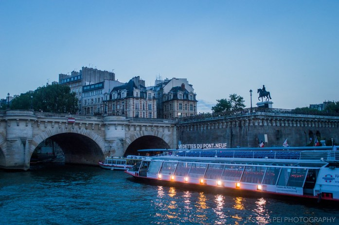 Pont Neuf Bridge Seine River Paris