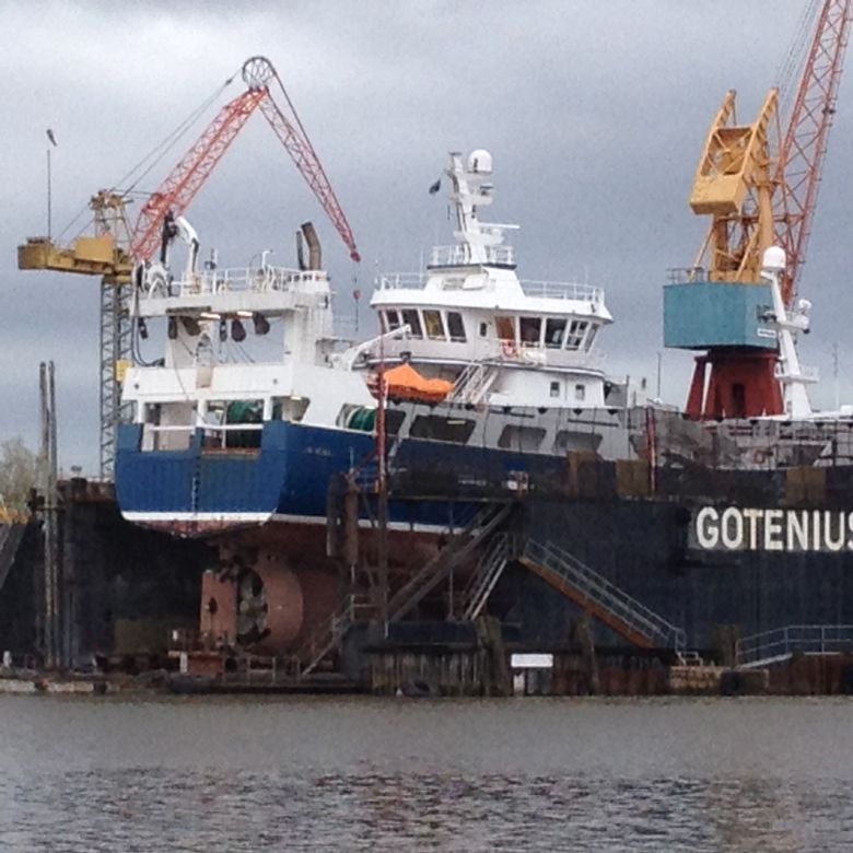 GG 778 Lövön på Gotenius varv