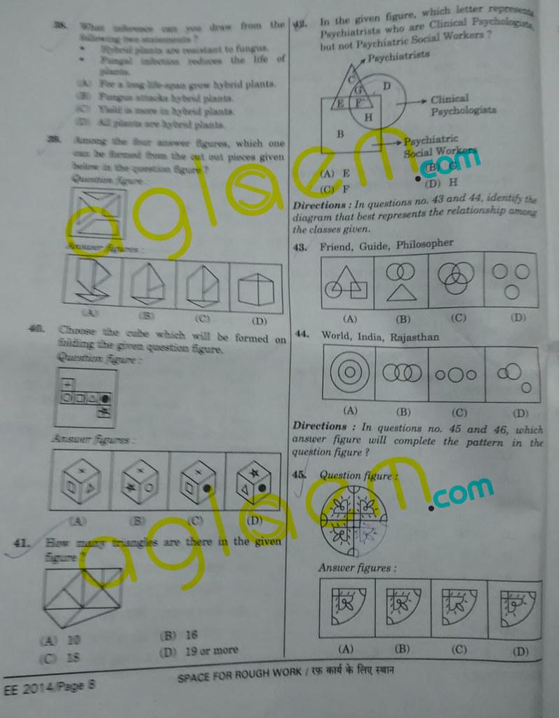 SSC CGL 2014 Question Paper