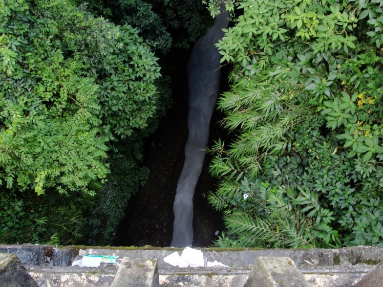 Pokhara's Seti River Gorge aquaduct from up high