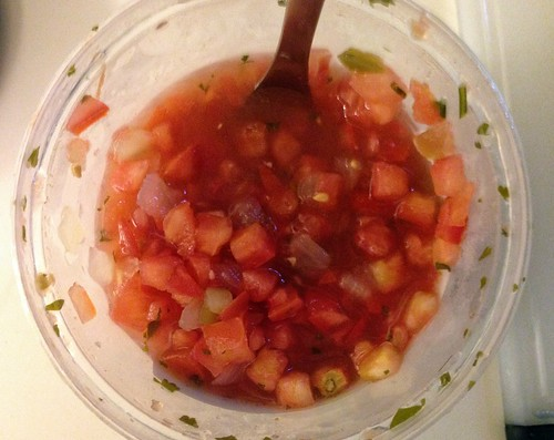 salsa for spicy chicken soup
