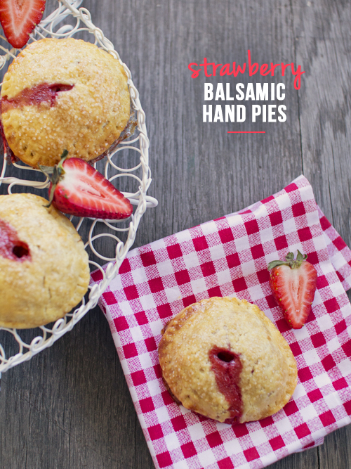 strawberry balsamic hand pie