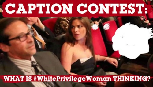 white privilege woman