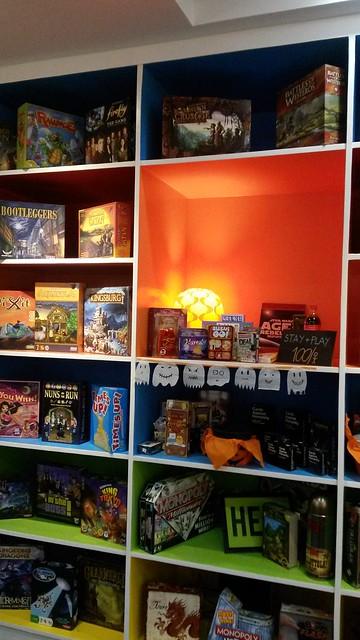 Shelves of games