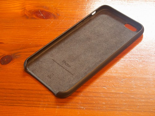 iPhone 6 Leather Case Black