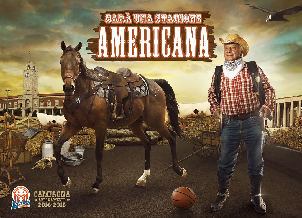 Latina Basket Season Ticket Campaign - An American Season 3