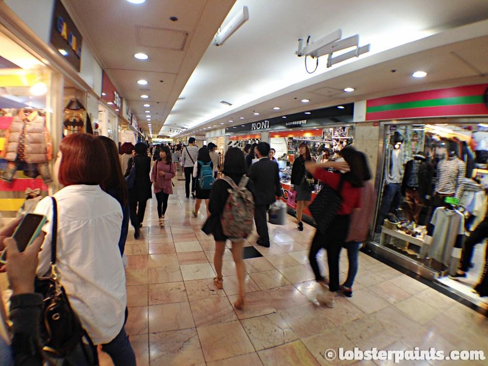 26 Sep 2014: Daehyeon Underground Shopping at Seomyeon Station | Busan, South Korea