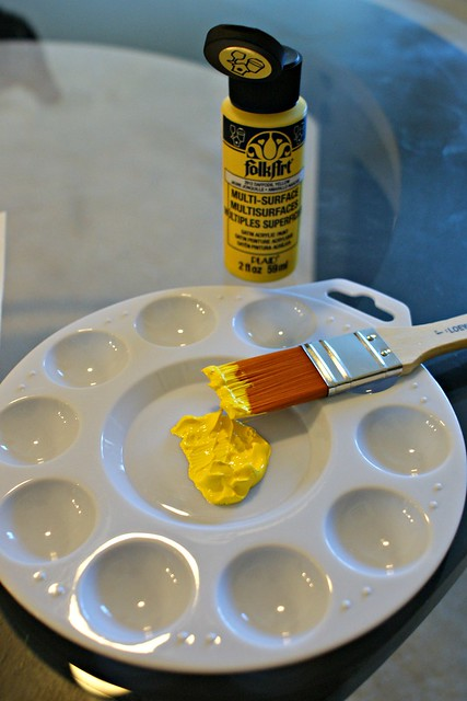 paint & pallette